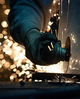 Cutting of steel to size - Quality Steel Supplier Newcastle - All Steel Cardiff