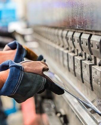 Folding of steel - Quality Steel Supplier Newcastle - All Steel Cardiff