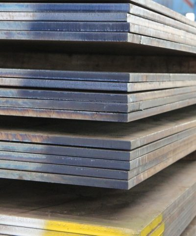 Stack of steel plate - Quality Steel Supplier Newcastle - All Steel Cardiff