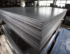 Steel plates in warehouse - Quality Steel Supplier Newcastle - All Steel Cardiff