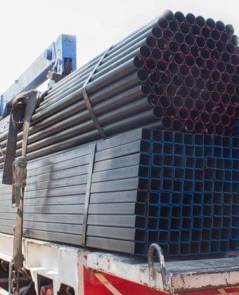 Truck load of steel - Quality Steel Supplier Newcastle - All Steel Cardiff